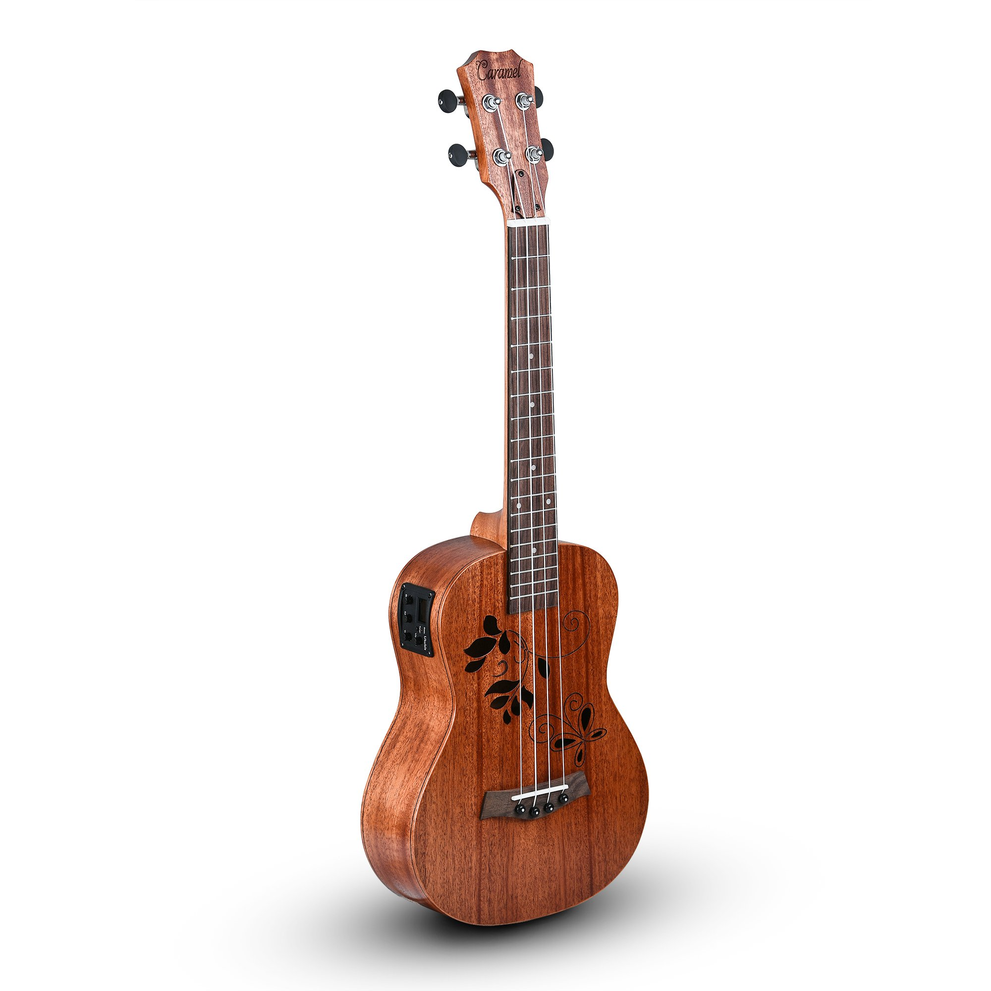 Caramel Mahogany Butterfly Acoustic Electric