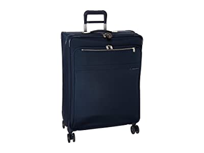 Briggs & Riley Baseline Large Expandable Spinner (Navy Blue) Luggage