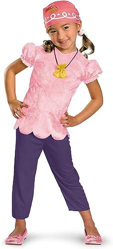 Girls Disney's Jake and the Neverland Pirates Classic Izzy Costume