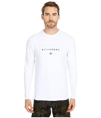 Billabong Union Loose Fit Long Sleeve (White) Men