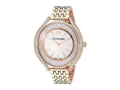 Swarovski Crystalline Aura Watch Rose Gold Tone Plated (White) Watches