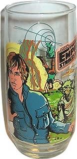 Vintage 1980 Burger King Star Wars Empire Strikes Back Luke Skywalker Coca Cola Glass
