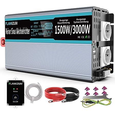 Spannungswandler 1500w Wechselrichter 12v Auf 230v Elektronik