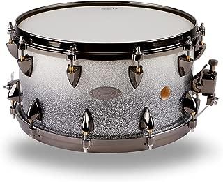 Orange County Drum & Percussion 25-Ply Maple Vented Snare Drum 14 x 7 in. Silver Sparkle Fade