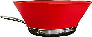 Frywall 10 (Medium) – Red – Splatter Guard, as Seen on Shark Tank
