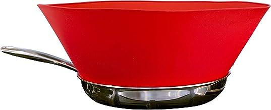 Frywall 10 (Medium) - Red - Splatter Guard, as Seen on Shark Tank