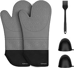 Grill et Barbecue Cuisine Four kookia Gants de Four /épais 100/% Coton r/ésistant /à la Chaleur pour Micro-Ondes