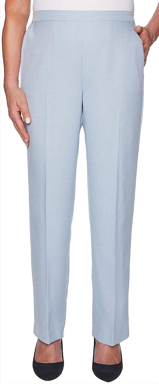 Alfred Dunner Women's Southampton Pant  Medium Length