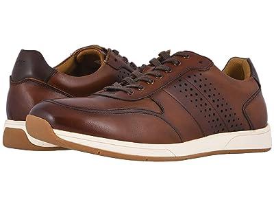 Florsheim Fusion Moc Toe Lace-Up II (Cognac Smooth) Men