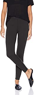 Amazon Brand - Daily Ritual Women's Seamed Front, 2-Pocket Ponte Knit Legging