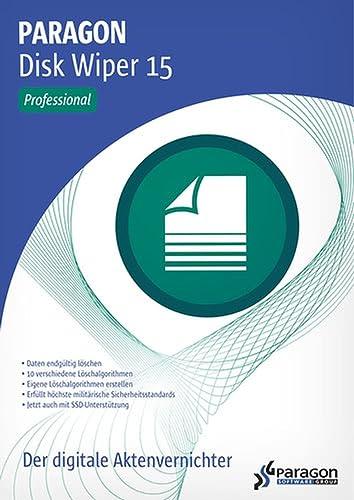 Disk Wiper 15 Professional - Nach höchsten militärischen und behördlichen Sicherheitsstandards Daten endgültig löschen! Windows 10, 8.1, 8, 7, Vista, XP [Download]