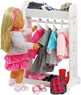 Best 18 doll clothes rack Reviews