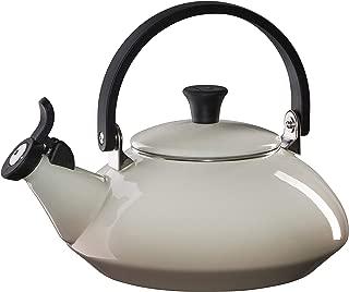 Le Creuset Meringue Enamel On Steel 1.5 Quart Zen Tea Kettle