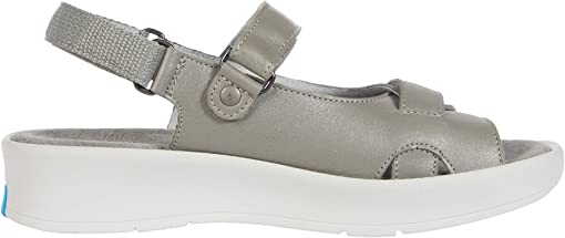 Silver Sienna Pearl Leather