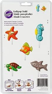 Lollipop Mold-Sea Creatures 5 Cavity (5 Designs)