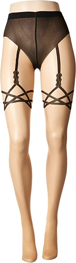 Wolford - Katy Suspender Tights