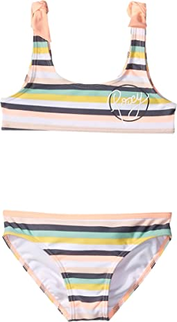 Let's Go Surfing Bra Swim Set (Toddler/Little Kids)