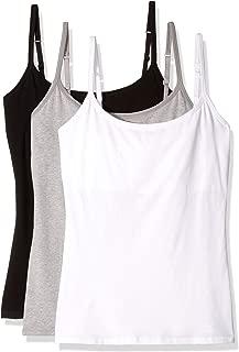 Pact Women's Everyday Camisole w/Shelf Bra 3-Pack