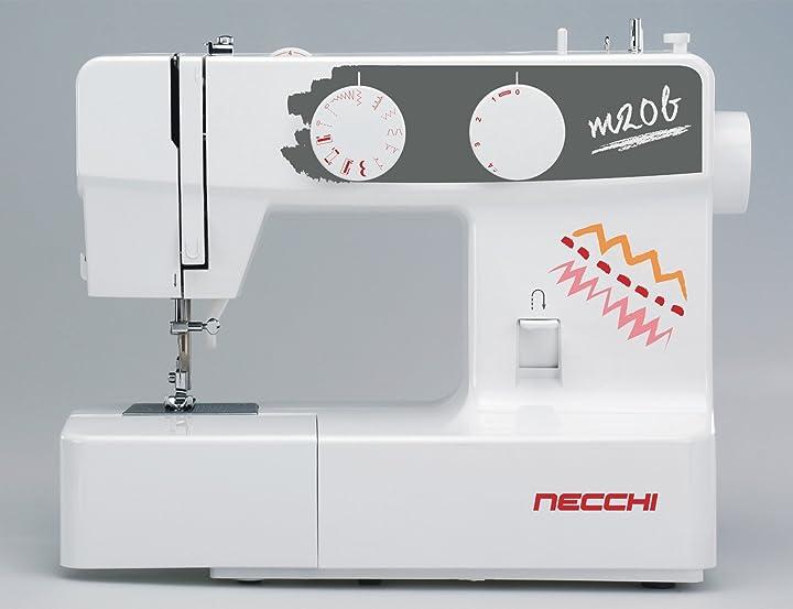 Macchina per cucire m20b - 5 anni di garanzia necchi B07CSSRN36
