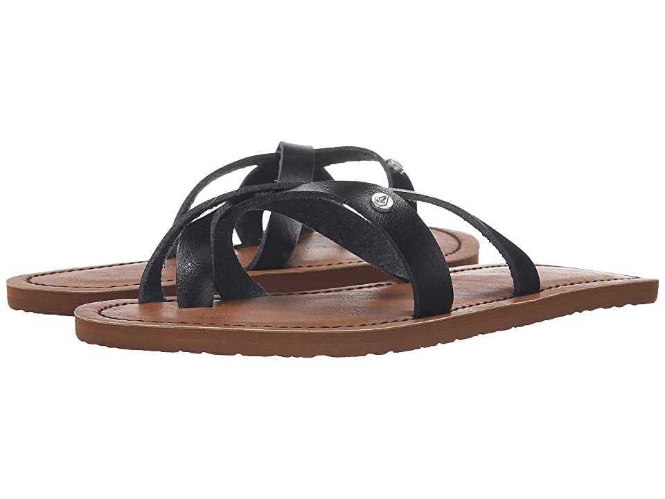 Volcom Ramble Sandal (Black) Women
