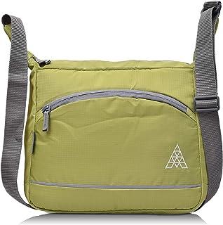 Adamson Fristo Men's Polyester Slingbag (Green)