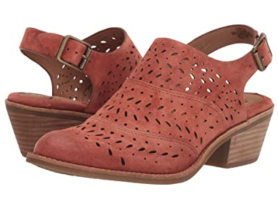 Sofft Alyce (Rust Cow Suede) Women