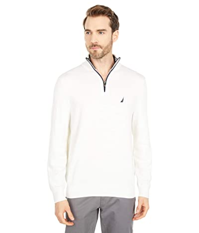 Nautica Navtech 1/4 Zip Sweater (Marshmallow) Men