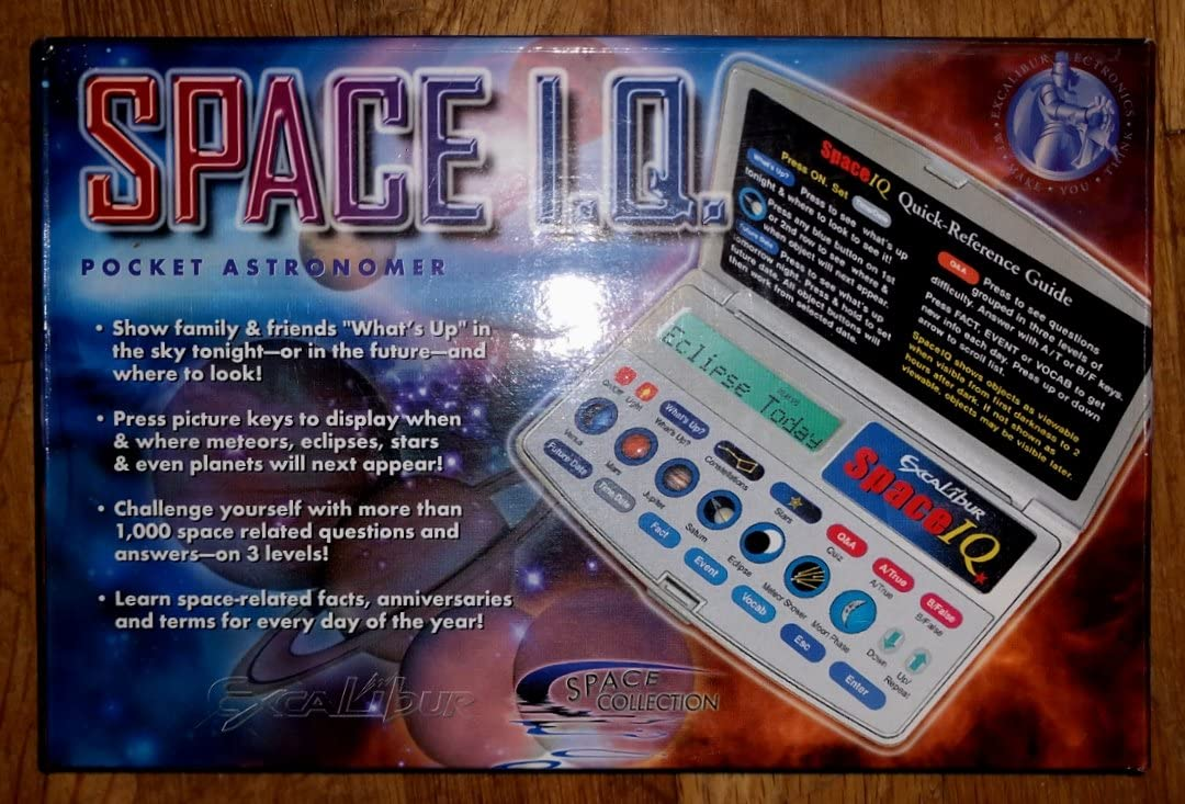 Super special price Space I. Q. Pocket Shipping included Astronomer