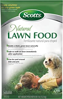 Scotts Natural Lawn Food, 4,000 sq. ft.