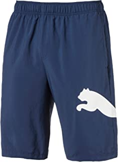 "PUMA Men's Ess Big Cat Woven Shorts 10"" Ss, Sargasso Sea"