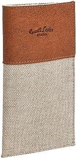 """Portaocchiali Gusti Leder studio""""Tavon"""" per occhiali custodia in vera pelle elegante marrone 2A157-33-1"""