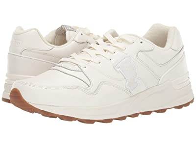 Polo Ralph Lauren Trackstar 100 (Egret Leather) Men