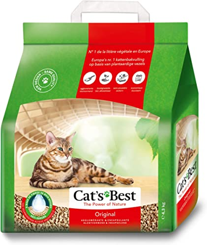 Cats Best Okoplus Clumping Litter, 4.3 Kgs
