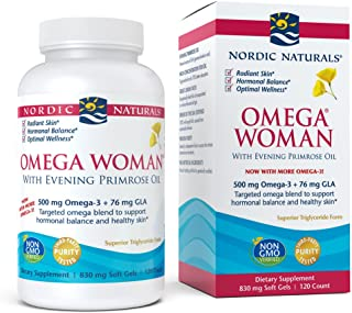 Nordic Naturals - Omega Woman, Evening Primrose Oil Blend, 120 Soft Gels