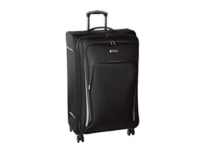 Kenneth Cole Reaction 28 Cloud City Lightweight Softside Expandable 8-Wheel Spinner Checked Luggage (Black) Luggage