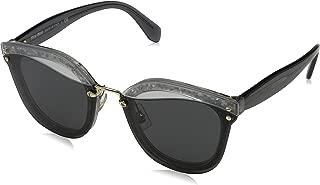 Miu Miu Women's Reveal Glitter Sunglasses