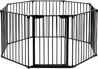 Dawndior Wall-Mount Metal Gate for Pet & Child