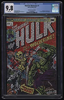 Hunt For Wolverine #1 CGC 9.8 W Pgs Shattered Comics Edition Variant Incredible Hulk 181