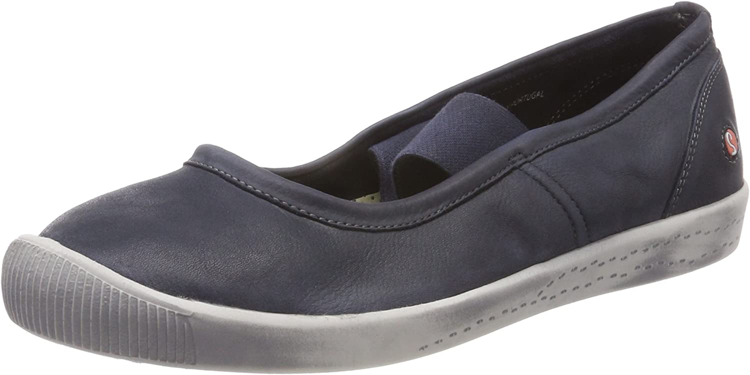 Softinos Ion446sof Washed Leather Womens shoes