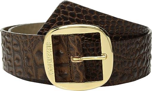 Gator Brown Leather