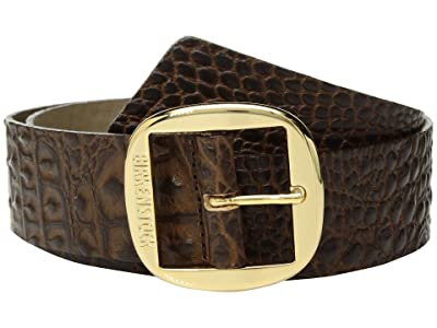Birkenstock Knoxville Leather Belt (Gator Brown Leather) Women