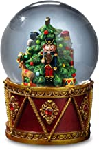 Nutcracker Drum Water Globe by The San Francisco Music Box Company