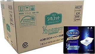 Silcot 舒蔻 丝滑型化妆棉 海绵型 40枚×6包 附产品介绍册