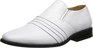 Stacy Adams Robeson Plain Toe Uniform Slip-on With Double Side Elastic Gore (Little Kid/Big Kid)