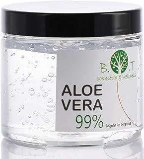 Gel Puro de Aloe Vera de Canarias 200 ml Regenerador 100% natural Hidratante Todo tipo de piel Cara Cuerpo Cabello (acon...