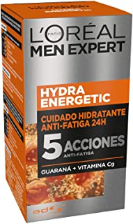 L'Oréal Paris Men Expert - 24H Hydra Energetic cuidado hidratante anti-fatiga, 50 ml