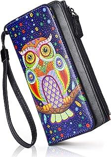 APHISON レディース 財布 カード16枚 長財布 小銭入れ 付き 花柄 ウォレット 大容量 カワイイ ギフト 2810