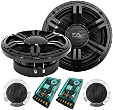 $76 » Seismic Audio - Pair of 6.5 Inch 300 Watt 2-Way Component Speaker System with Crossover Woofer Tweeter Package Network
