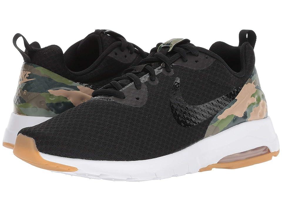 Nike Air Max Motion Low Premium (Black/Black/Mushroom/Gum Light Brown) Men