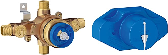 Grohe 35015001 - Grohsafe Universal Pressure Balance Rough-in Valve (New Version of Grohe 35015000) (Pack of 3)